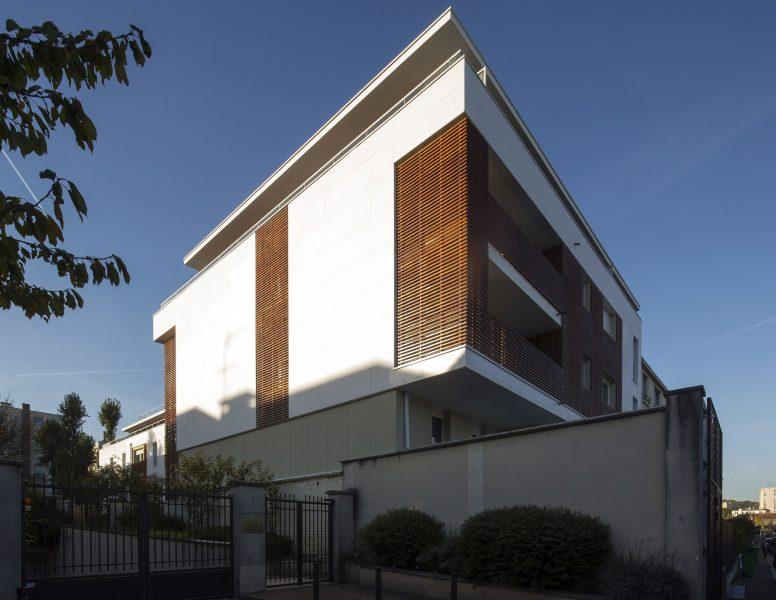 Pignon architecturé