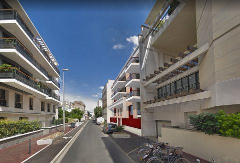 Perspective rue Hoche
